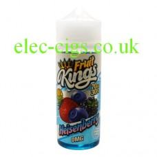 image shows a bottle of Heisenberry 100ML E-Liquid from the Fruit Kings Range