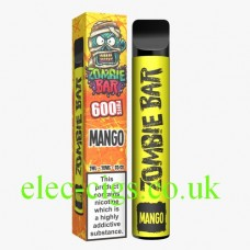 Zombie Bar 600 Puff Mango. From only £3.90