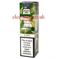Blackcurrant Nicotine Salt E-Liquid from Amazonia