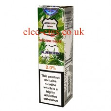 Blueberry Nicotine Salt E-Liquid from Amazonia
