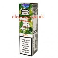 Cherry Nicotine Salt E-Liquid from Amazonia