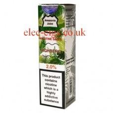 Highberg Nicotine Salt E-Liquid from Amazonia