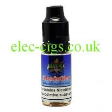 Image shows a bottle of Amazonia 10ML Sub-Ohm E-Liquid Absinthe