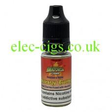 image shows a bottle of Amazonia 10ML Sub-Ohm E-Liquid Cherry Tunes