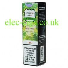 Amazonia 10 ML E-Liquid: Berry Tunes