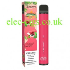 Lychee Mint 800 Puff Disposable E-Cigarette by Amazonia