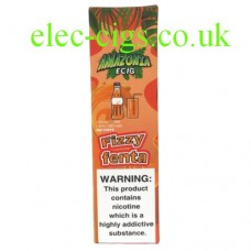 Image of the packaging containing the Amazonia Disposable E-Cigarette Fizzy Fenta