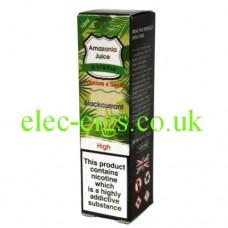 Amazonia 10 ML E-Liquid: Blackcurrant