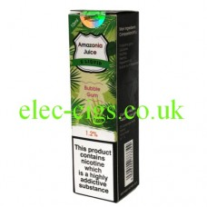 Amazonia 10 ML E-Liquid: Bubblegum