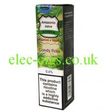 Amazonia 10 ML E-Liquid: Candy floss