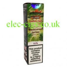Blackcurrant Lychee E-Liquid by Amazonia