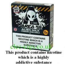 Area 51: Alien Milk E-Juice 3 x 10 ML