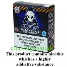 Area 51: Black Hole E-Juice 3 x 10 ML