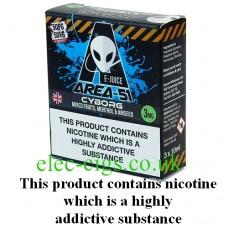 Area 51: Cyborg E-Juice 3 x 10 ML