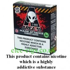 Area 51: Mars Attacks E-Juice 3 x 10 ML