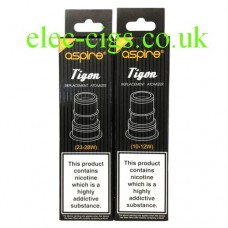 Aspire Coils for the Aspire Tigon E-Cigarette