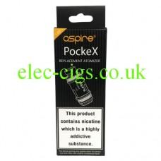 Aspire Coils for the Pocket X E-Cigarette