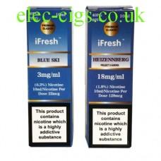 Heisenberg E-Liquid by iFresh (Blue Ski)