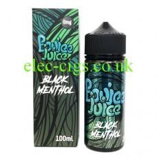 image of Black Menthol 100 ML E-Liquid by Boujee Juice
