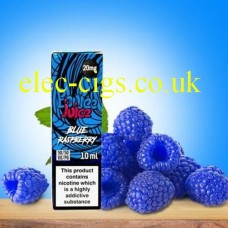 Blue Raspberry 20 MG Nicotine Salt E-Liquid from Boujee Juice