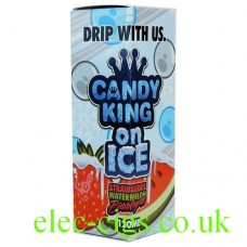 Strawberry, Watermelon, Bubble Gum 100 ML E-Juice by Candy King On Ice