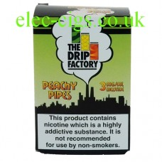 Peachy Pipes 3 mg Cloud Juice from The Drip Factory