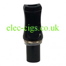 Image shows a Drip Tip Black Flat for CE4 Atomiser