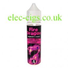 Dragon Blood 50 ML E-Liquid by Fire Dragon