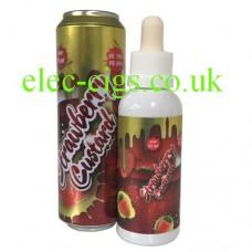 Fizzy Strawberry Custard 55 ML Low Mint All Day Vape
