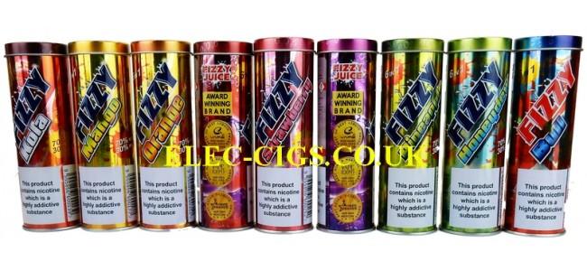Fizzy Juice & Tundra Juice 6 x 10 ML E-Liquid 70-30 (VG/PG) with 3 MG (0.3%) of Nicotine