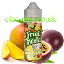 Tropical Mango and Passion Fruit 100 ML E-Liquid from Fruit Fiesta
