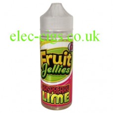 Raspberry Lime 100 ML E-Liquid by Fruit Jellies