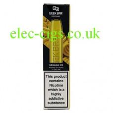 Image shows a Geek Bar Disposable E-Cigarette Banana Ice