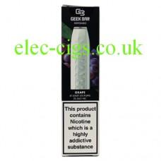 Geek Bar Disposable E-Cigarette Grape