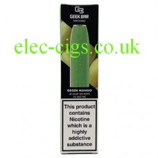 Geek Bar Disposable E-Cigarette Green Mango