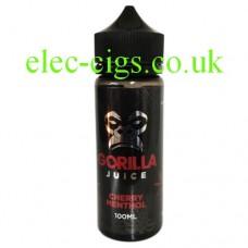 Cherry Menthol 100 ML 70-30 E-Liquid by Gorilla Juice