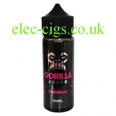 Pinkman 100 ML 70-30 E-Liquid by Gorilla Juice
