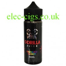 Rainbow Candy 100 ML 70-30 E-Liquid by Gorilla Juice