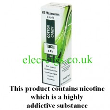 HS VapourMX Premium E-Liquid: Cotton Candy