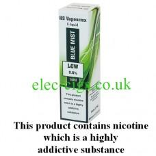 HS VapourMX Premium E-Liquid: Blue Mist