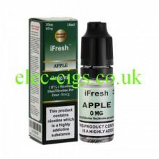 Apple 10 ML E-Liquid by iFresh