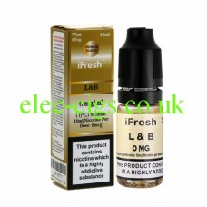 B and L 10 ML E-Liquid by iFresh
