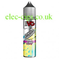 Image is of a bottle of IVG After Dinner Range: Bubblegum Custard 50 ML E-Liquid