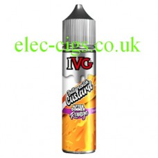 image shows a bottle of IVG After Dinner Range: Butterscotch Custard 50 ML E-Liquid