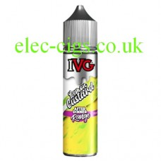 image of the bottle of IVG After Dinner Range: Lemon Custard 50 ML E-Liquid on white background.