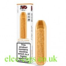 Image shows the IVG Bar Butter Cookie
