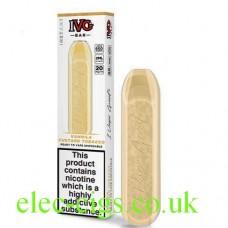 Box and exposed deice of the IVG Bar Vanilla Custard Tobacco