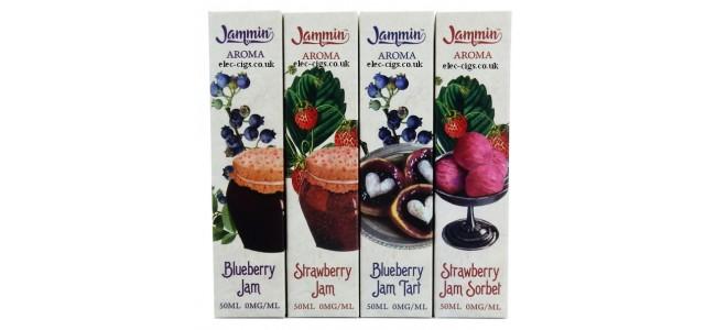 Jammin 50 ML Zero Nicotine E-Liquids