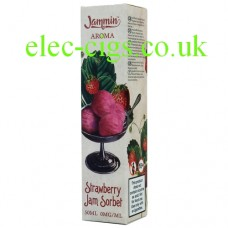 Strawberry Sorbet 50 ML E-Juice from Jammin