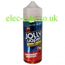 Strawberry Sensation 100 ML E-Liquid from Jolly Vaper